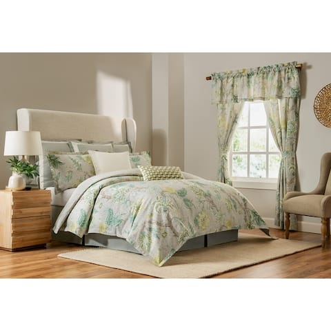 Madura 4-piece Floral Cotton Comforter Set
