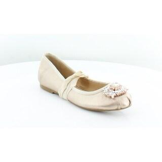 Badgley Mischka Karter II Women's Flats & Oxfords Gold - 5.5