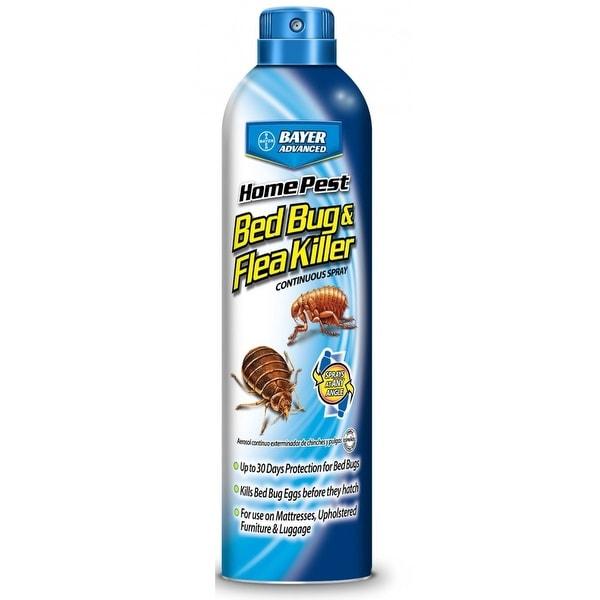 Bayer Advanced 701320a Home Pest Bedbug And Flea Killer Continuous Spray 15 Oz