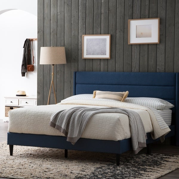 Brookside Sara Upholstered Bed with Horizontal Channels. Opens flyout.