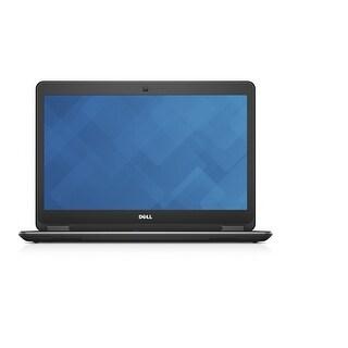 "Dell Latitude E7440 14.0"" Standard Refurb Laptop - Intel i7 4600U 4th Gen 2.1 GHz 8GB SATA mSATA 128GB SSD Win 10 Pro - Wifi"