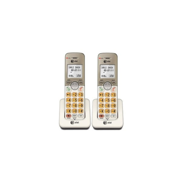 AT&T EL50013 2-Pack 1.9GHz Extra Handset / Charger W / Extra Large LCD Display