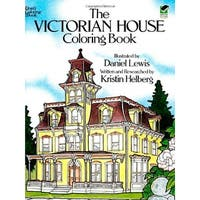 Dover - Coloring Book - Victorian Houses