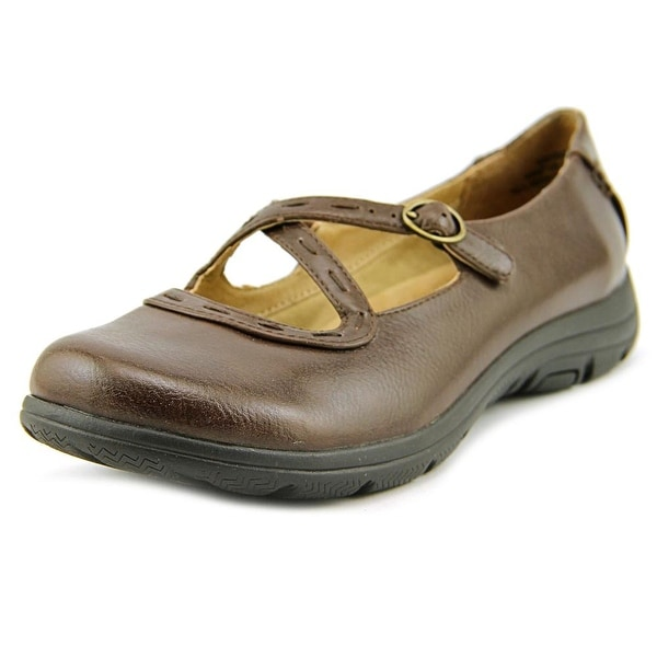 Kim Rogers Emison Women  Round Toe Synthetic Brown Mary Janes