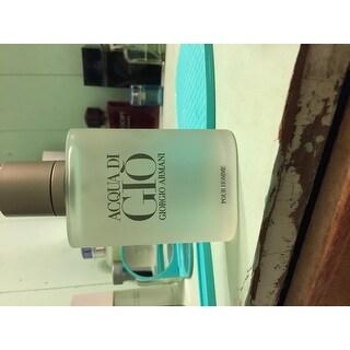Giorgio Armani Acqua Di Gio Men's 3.4-ounce Eau de Toilette Spray (Tester)