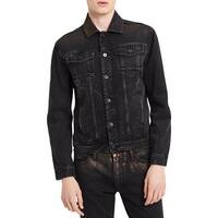 Calvin Klein Jeans Mens Jean Jacket Fall Denim
