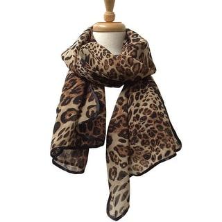 Women's Lightweight Animal Printed Soft Large Wrap Scarves