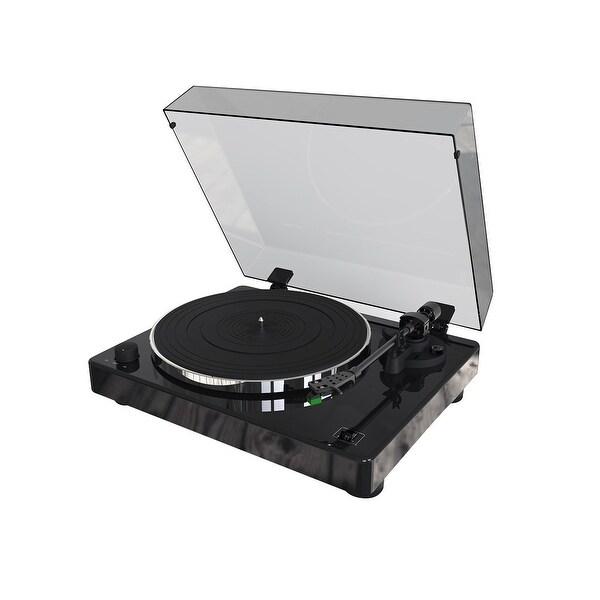 Monoprice Monolith Turntable with Audio-Technica AT100E Cartridge