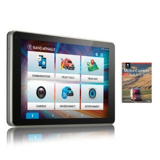 Rand McNally OverDryve 8Pro with Atlas OverDryve Pro-8 Inch