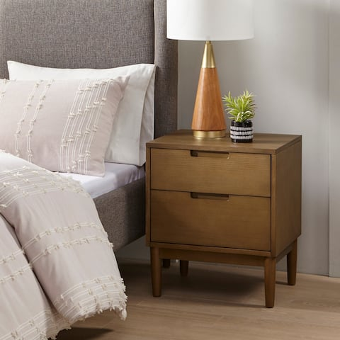 Mallory Brown Nightstand by INK+IVY