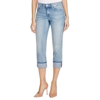 NYDJ Womens Dayla Capri Jeans Slimming Mid-Rise