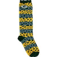 Green Bay Packers Pattern Medley Socks