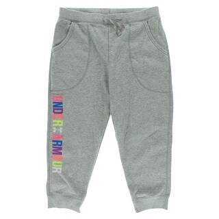 Under Armour Girls Favorite Fleece Pants Gray