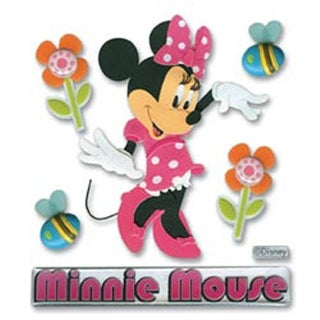 Minnie Mouse - Disney Dimensional Stickers