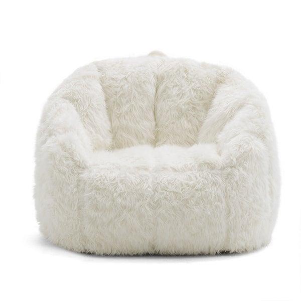 Big Joe Lux Milano Shag Fur Chair. Opens flyout.