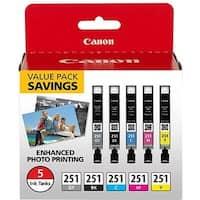 """Canon CLI-251 Ink Cartridge - 5 Pack Ink Cartridge"""