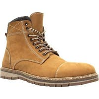 Crevo Men's Fulham Ankle Boot Tan Leather