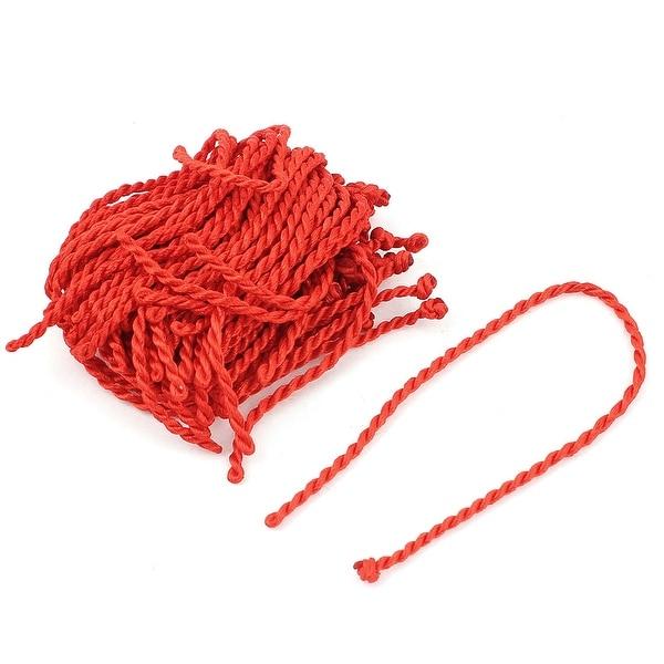 Shop 34pcs 20cm 8 Red Nylon DIY Braided Lucky String Bracelet Cord