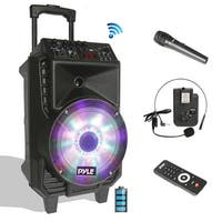 8-In Portable Pa Speaker & Mic System Bt