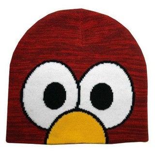 Sesame Street Elmo Eyes Knit Beanie Hat