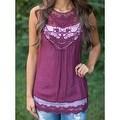 Fashion Women Summer Vest Top Sleeveless Blouse Casual Tank Tops T-Shirt Lace - Thumbnail 12