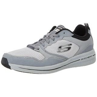 Skechers Men's Burst 2.0 Light Gray/Black Casual Shoe