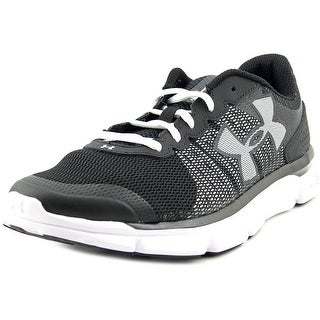 Under Armour Micro G Speed Swift Women Round Toe Synthetic Black Running Shoe