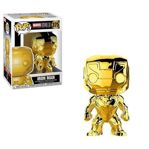 Marvel Funko POP Vinyl Figure - Gold Chrome Iron Man - Multi