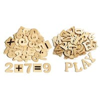 Wood Letters & Numbers