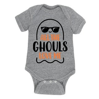 All The Ghouls Love Me - Infant One Piece