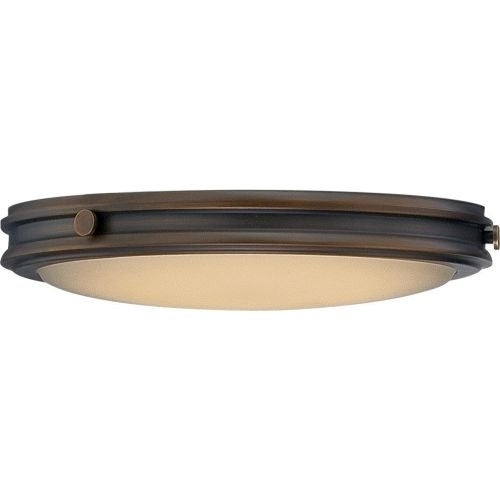 Nuvo Lighting 62/301 Houston 1 Light LED Flush Mount Ceiling Fixture