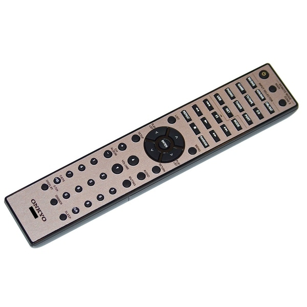 OEM Onkyo Remote Control Originally Shipped With: TX-8050, TX8050