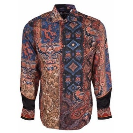 NEW Robert Graham Classic Fit Hint of Color Limited Edition Sport Shirt XL