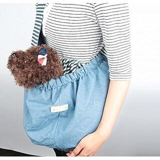 Alpha Dog Series - Reversible Pet Sling Bag (Blue)