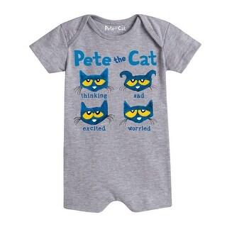 Pete The Cat The Faces Of Pete - Infant Romper