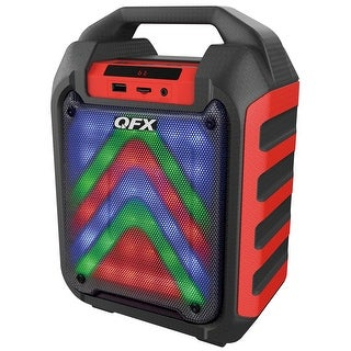 "QFX 4"" Rechargeable Party Speaker"