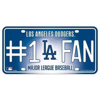 Los Angeles Dodgers License Plate 1 Fan