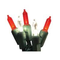 Holiday Bright Lights LEDBX-T550-CC6 LED Christmas Light Set, 50 Lights