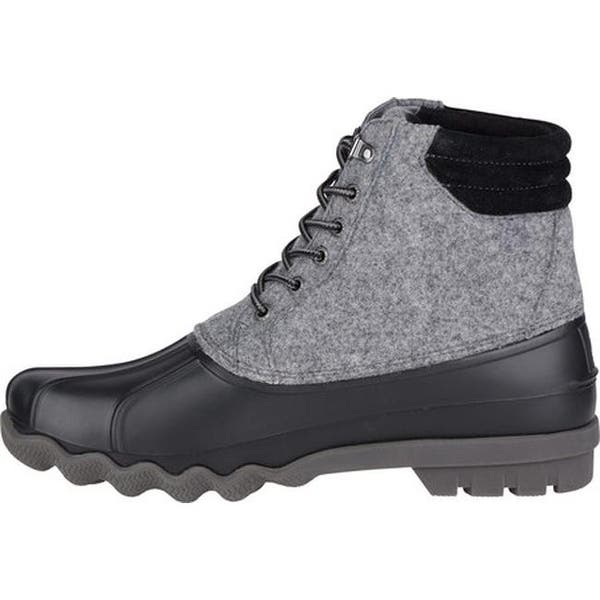 7eed44f058f Shop Sperry Top-Sider Men's Avenue Duck Boot Grey Wool/Leather ...