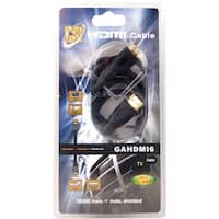 6 ft. High Definition HDMI Cable, Gold