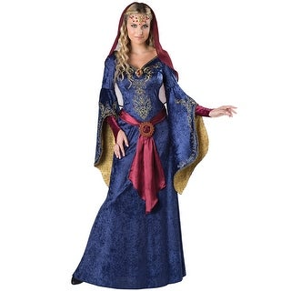 InCharacter Elegant Maid Marian Adult Costume - Blue