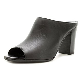 Bella Vita Savona WW Open-Toe Leather Mules
