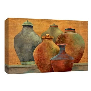 "PTM Images 9-148283  PTM Canvas Collection 8"" x 10"" - ""Portofino Veranda"" Giclee Grecian Art Print on Canvas"