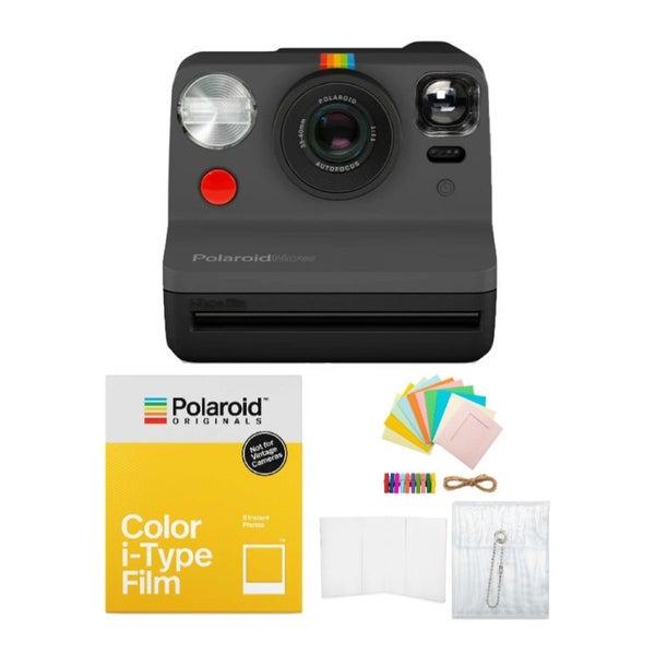 Polaroid Originals Now Viewfinder i-Type Instant Camera (Black) Bundle. Opens flyout.