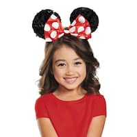 Disguise Red Minnie Mouse Sequin Child Ears