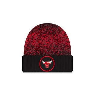 Chicago Bulls 2017 On Court Cuffed Knit Hat