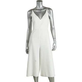 TopShop Womens Sleeveless Cropped Jumpsuit - 4