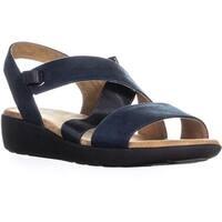 Easy Spirit Kalani2 Ankle Strap Sport Sandals, Dark Blue