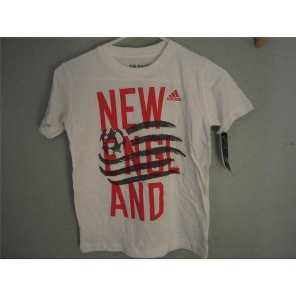 super popular 8a778 43ebf Minor Flaw- Adidas England Revolution Youth Small (S 8) White Shirt