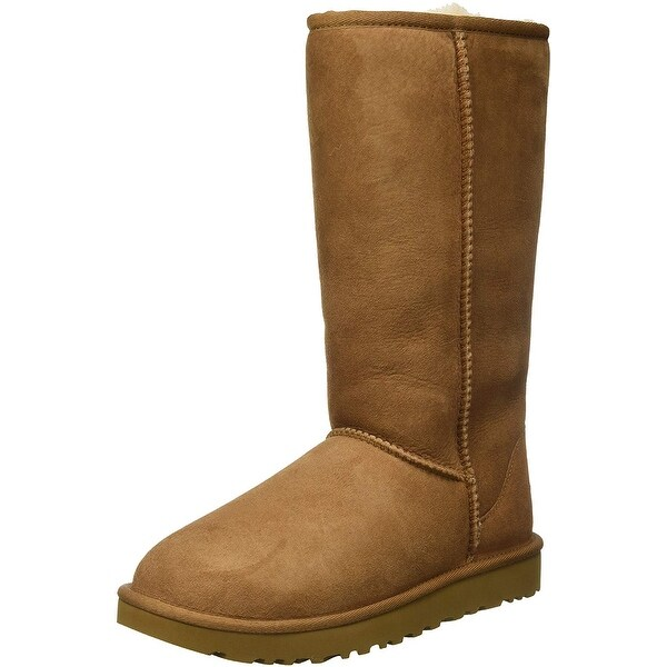 Ugg Womens Classic Tall II Fabric Closed Toe Mid-Calf Cold Weather ...